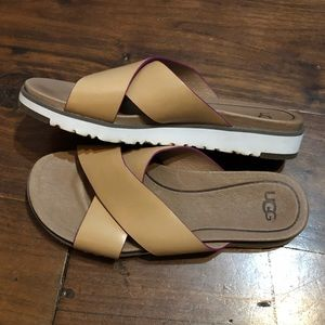 Barely worn Women's Ugg sandals Size 6